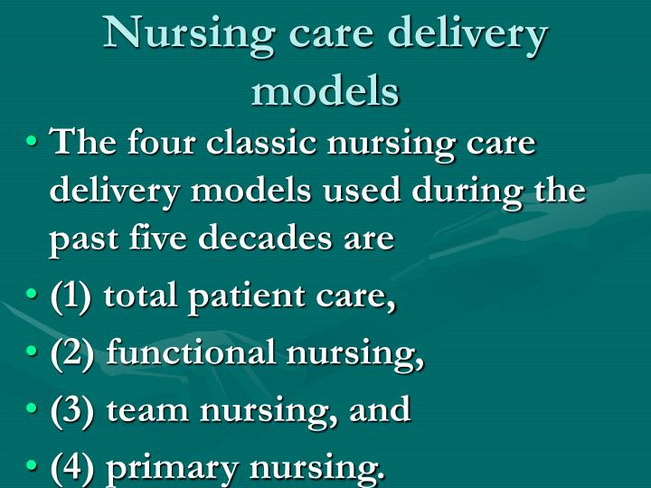 National Nurse Staffing Programme