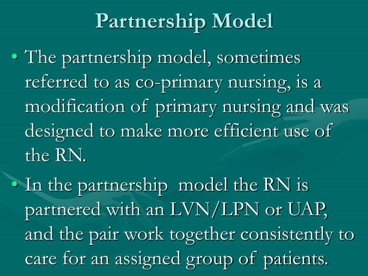 Partnership Model