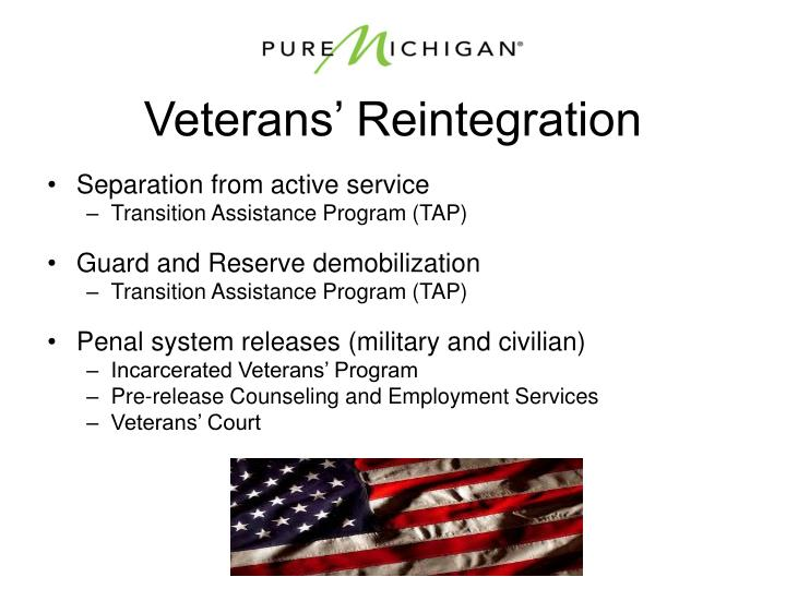 Veterans' Reintegration