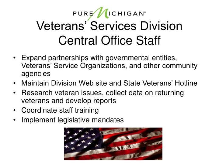 Veterans' Services Division