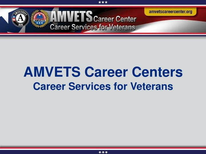 AMVETS Career Centers