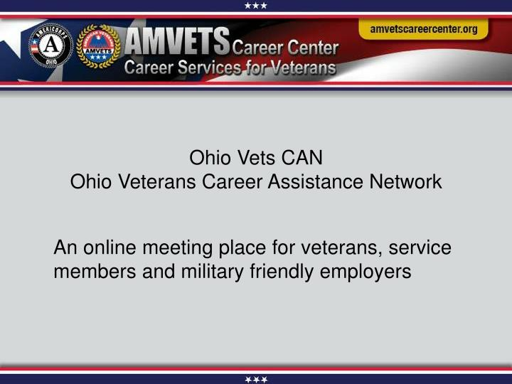 Ohio Vets CAN