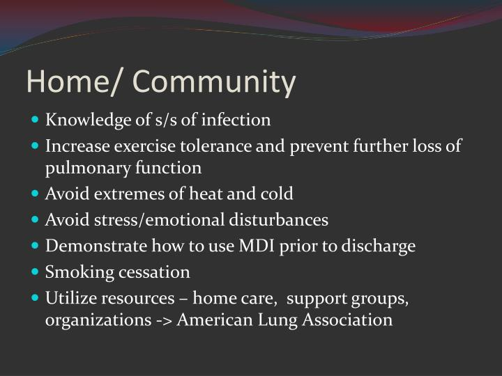 Home/ Community
