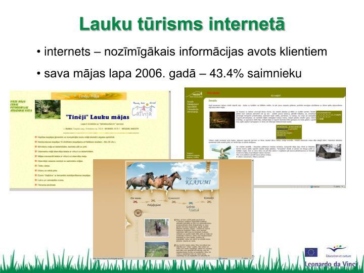 internets – nozīmīgākais informācijas avots klientiem