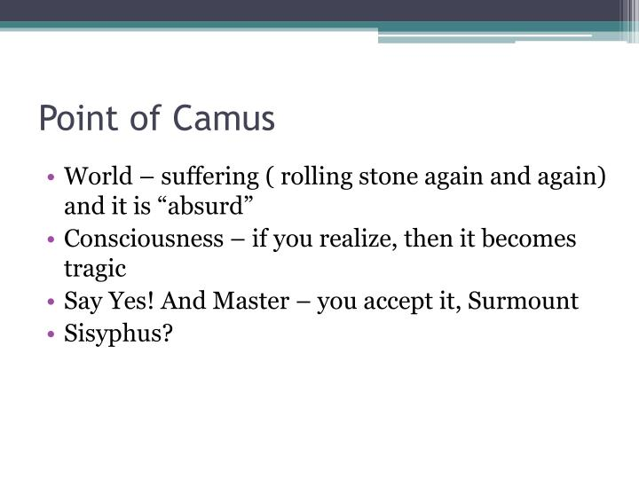 Point of Camus
