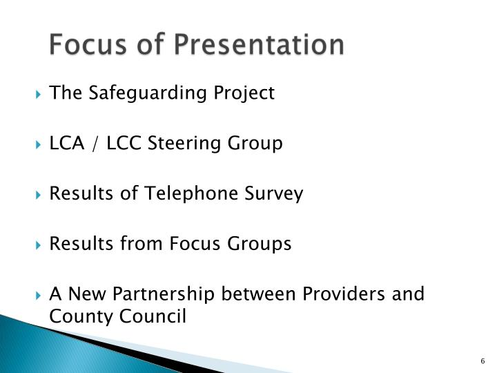 The Safeguarding Project