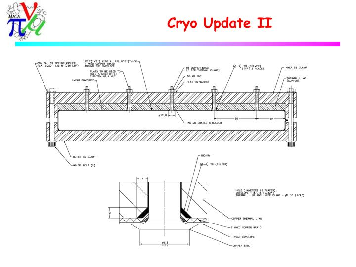 Cryo Update II