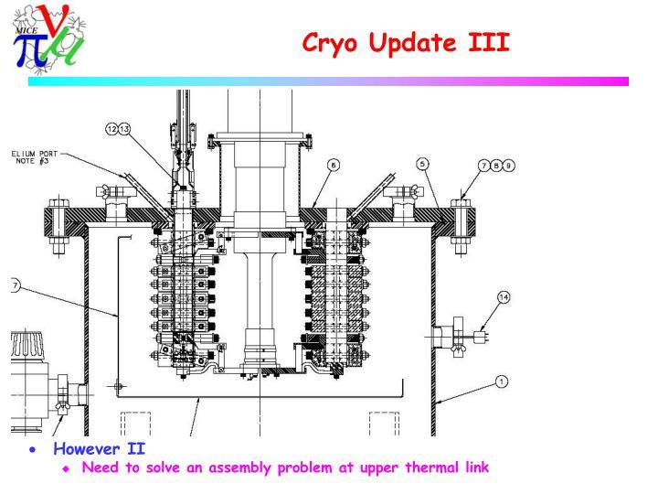 Cryo Update III