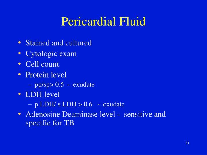 Pericardial Fluid