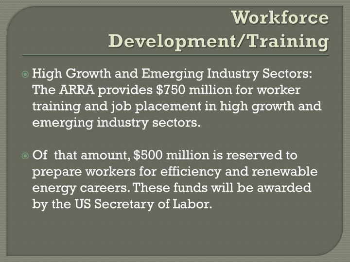 Workforce Development/Training