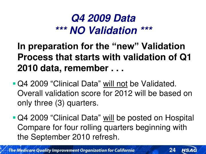 Q4 2009 Data