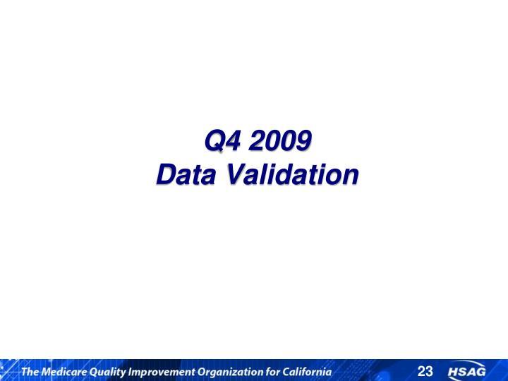 Q4 2009