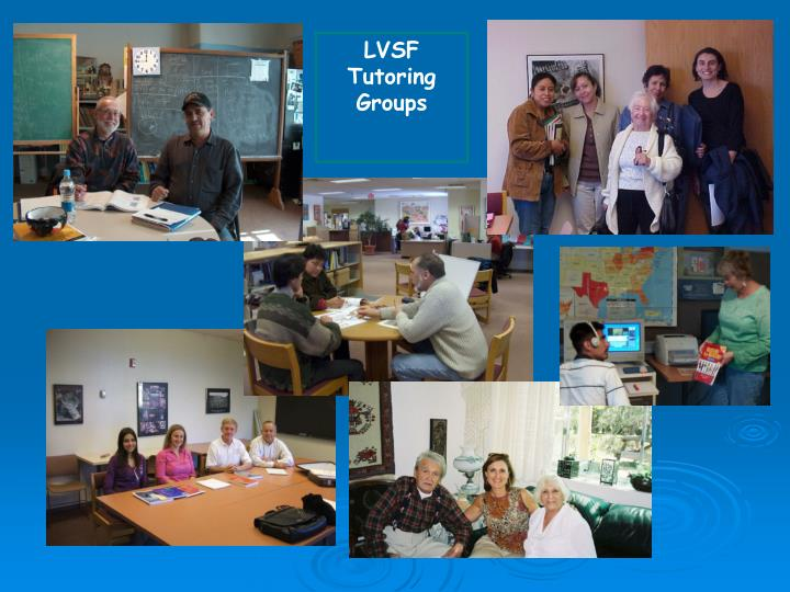 LVSF Tutoring Groups
