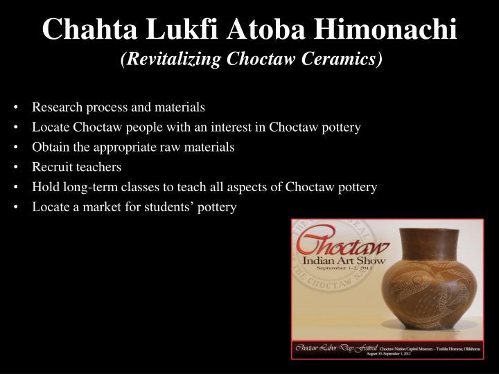 Chahta Lukfi Atoba Himonachi