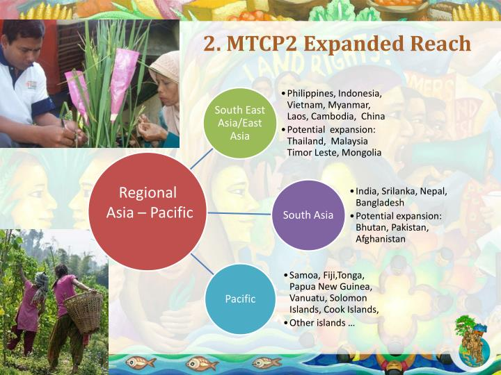2. MTCP2 Expanded Reach