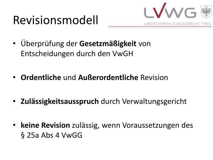 Revisionsmodell