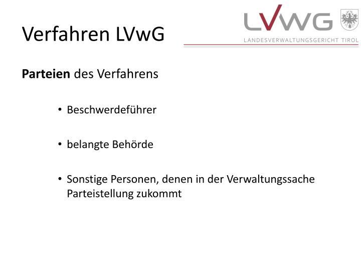 Verfahren LVwG
