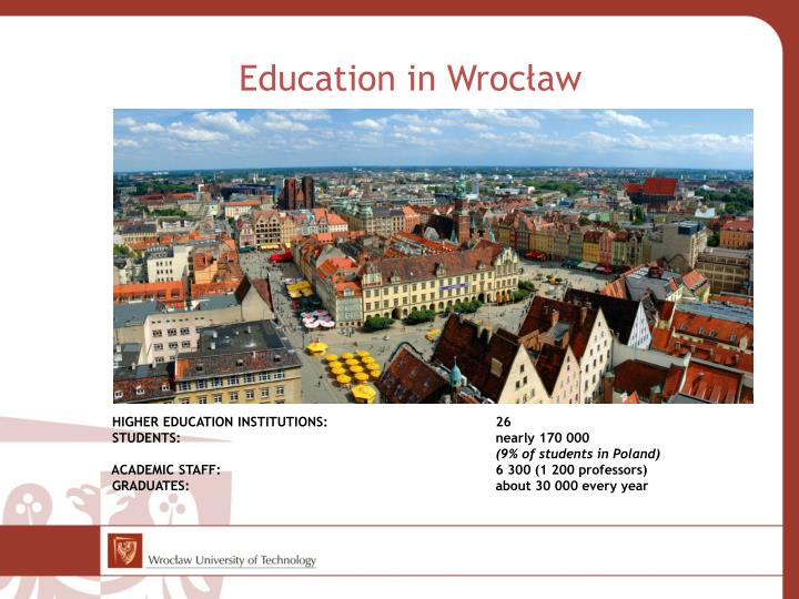 Education in wroc aw