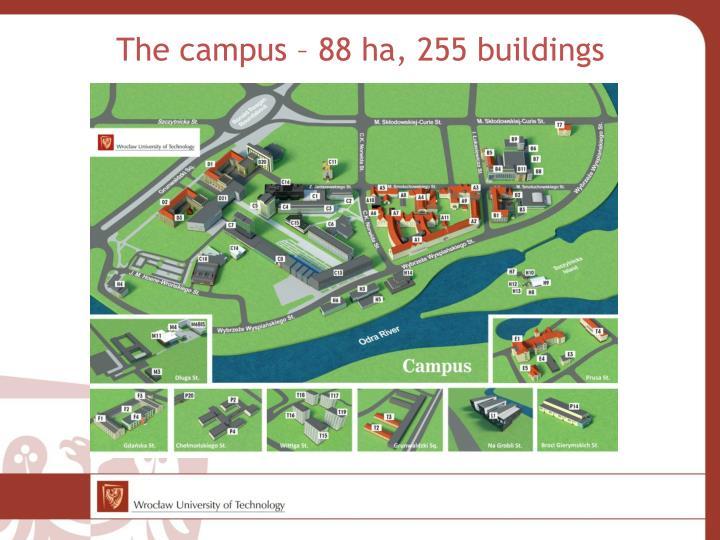 The campus –
