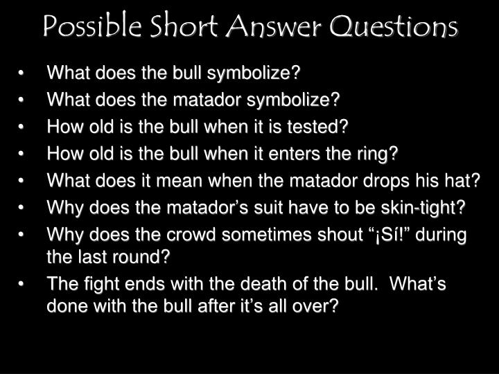 What does the bull symbolize?