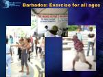 barbados exercise for all ages