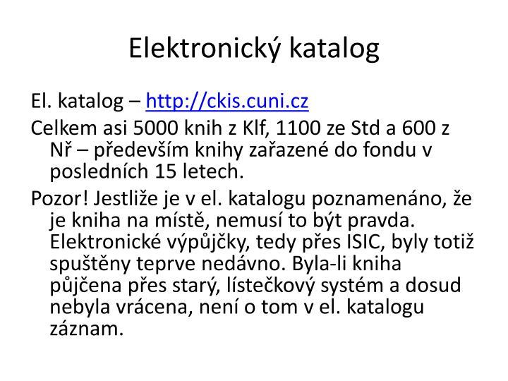 Elektronický katalog