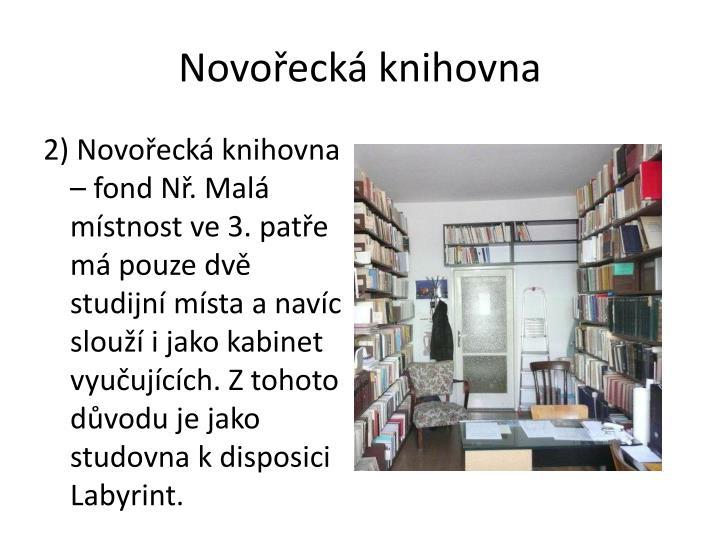 Novořecká knihovna