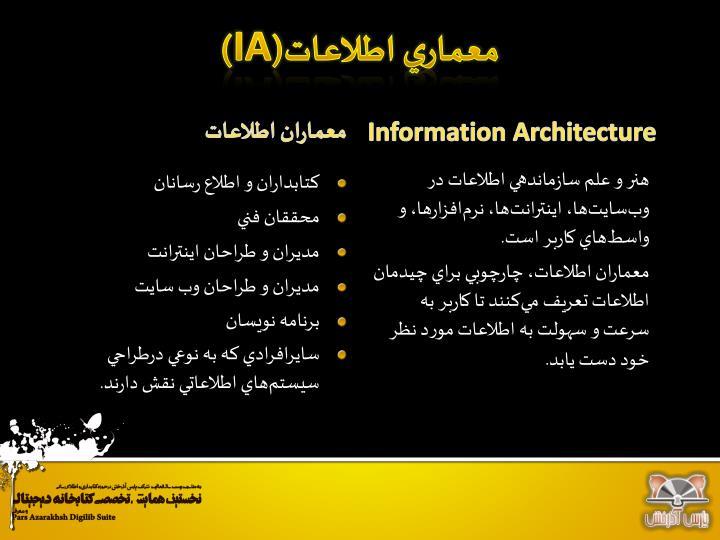 معماري اطلاعات(