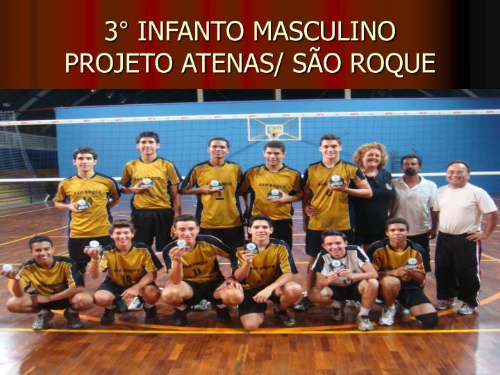 3° INFANTO MASCULINO