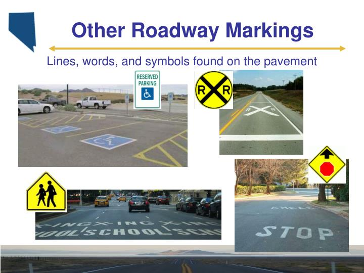 Other Roadway Markings