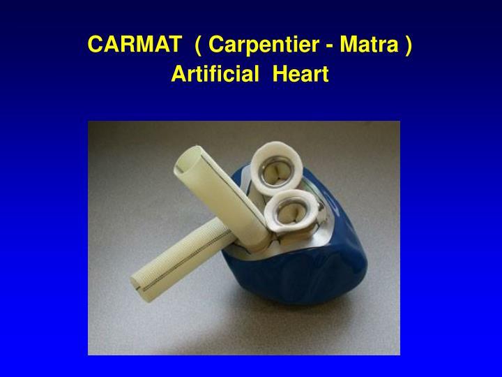 CARMAT  ( Carpentier - Matra )