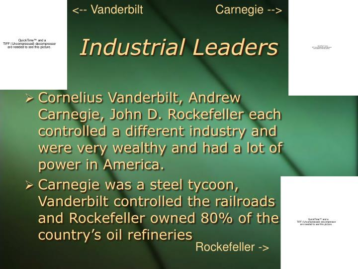 Industrial leaders