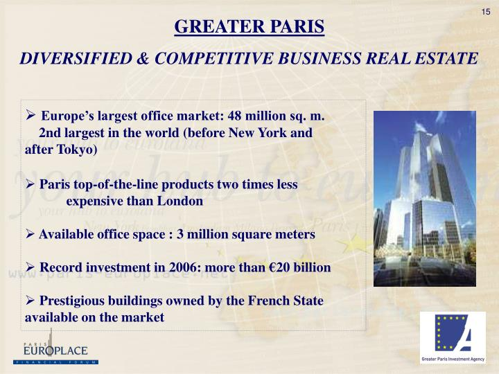 GREATER PARIS