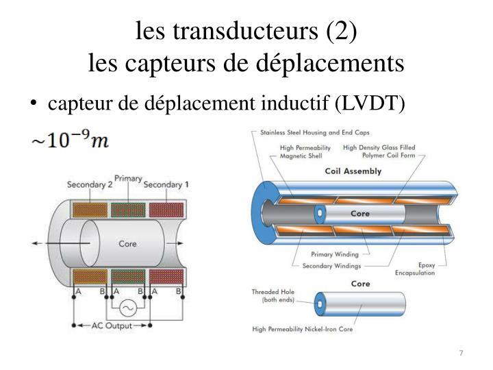 les transducteurs (2)