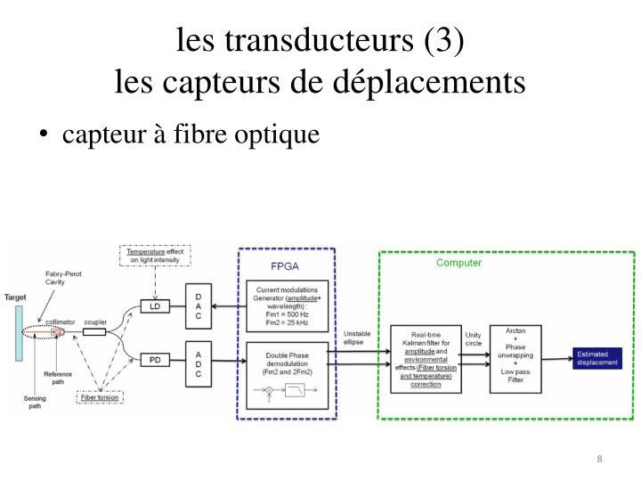 les transducteurs