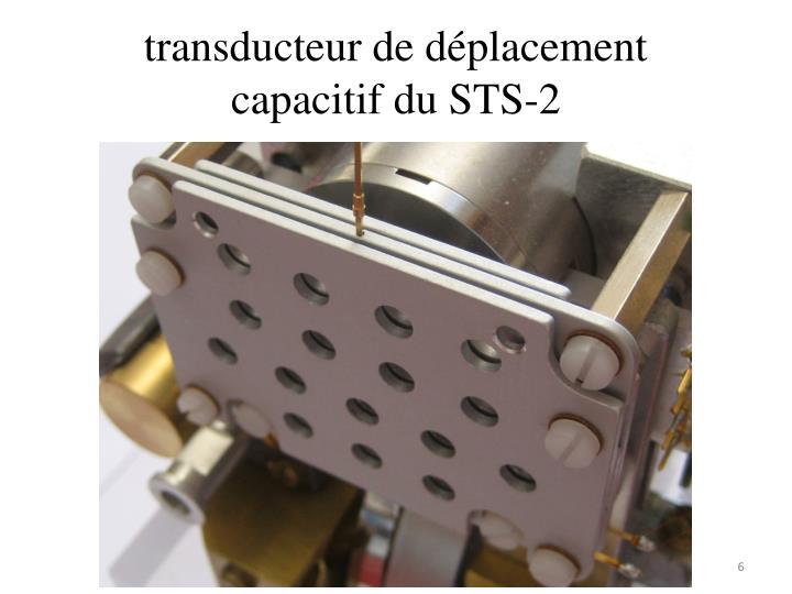 transducteur de déplacement