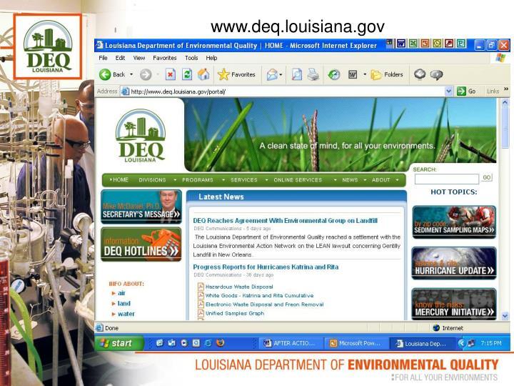 www.deq.louisiana.gov