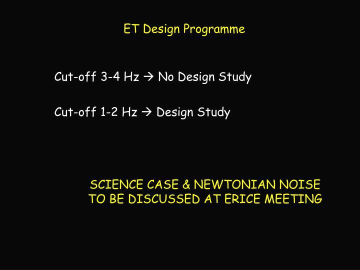 ET Design Programme