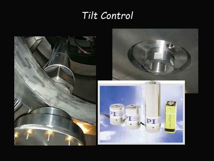 Tilt Control