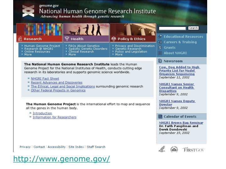 http://www.genome.gov/