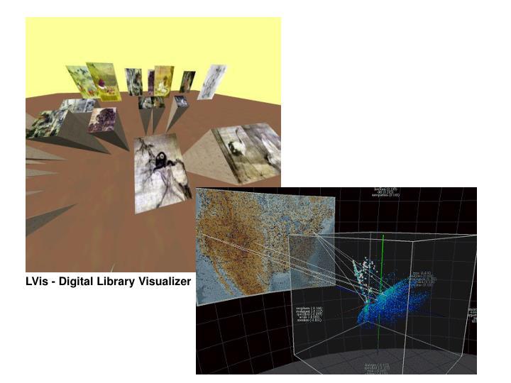LVis - Digital Library Visualizer