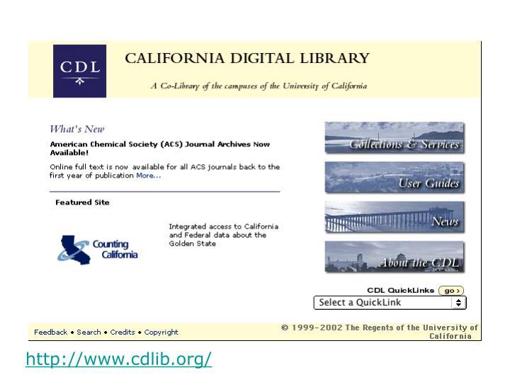 http://www.cdlib.org/