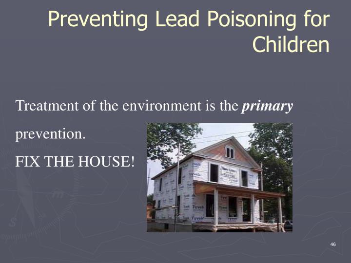 Preventing Lead Poisoning for Children