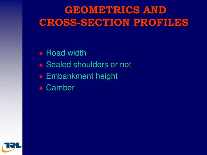 GEOMETRICS AND