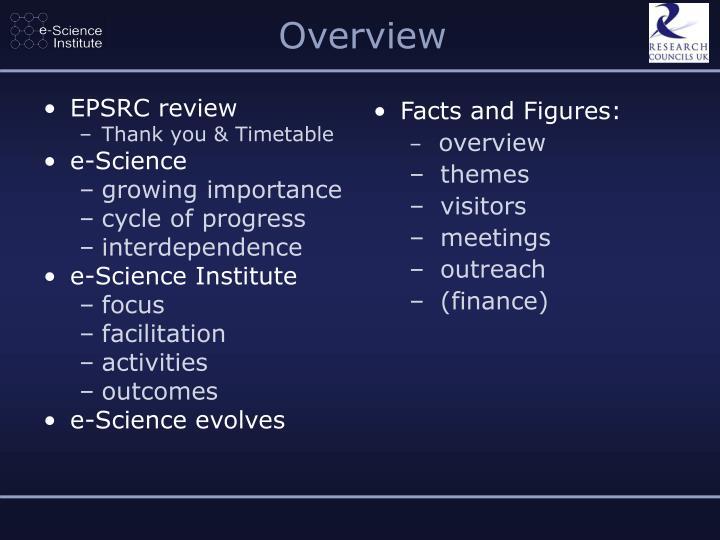 EPSRC review