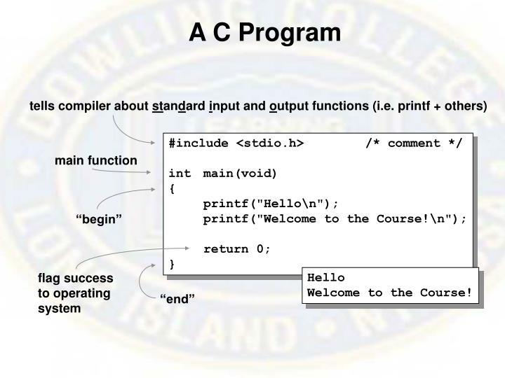 A C Program