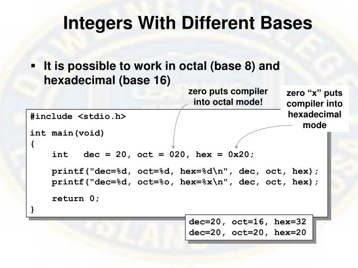 Integers With Different Bases