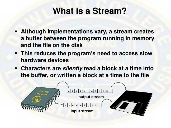 What is a Stream?