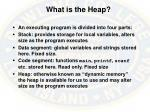 what is the heap