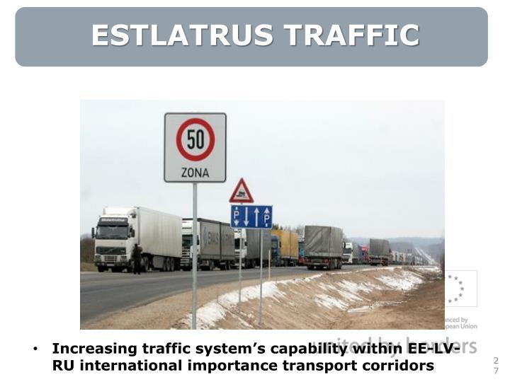 ESTLATRUS TRAFFIC